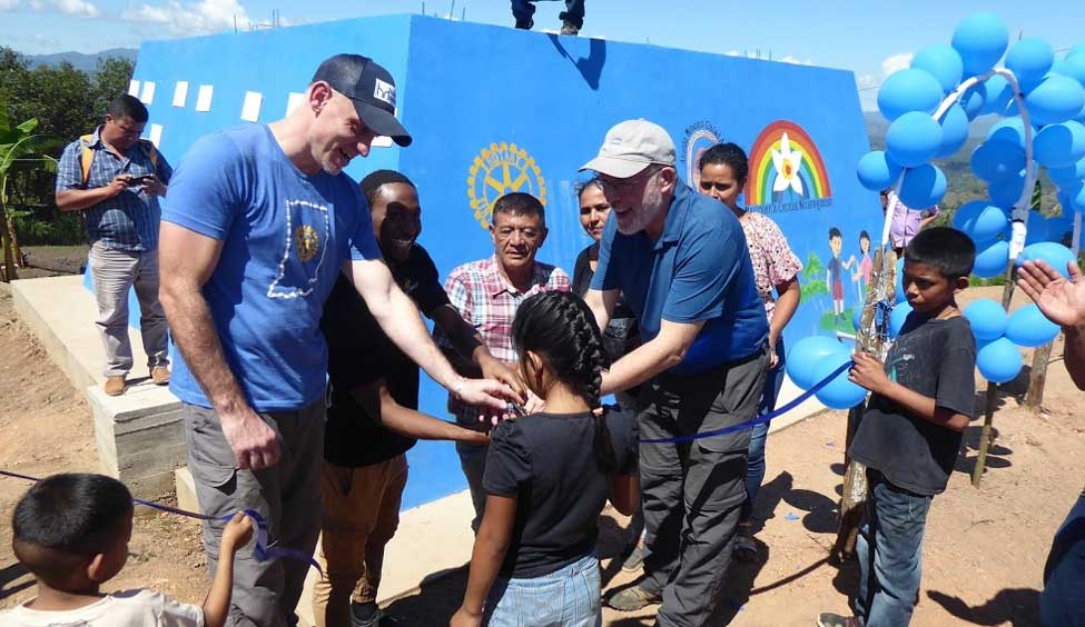 Inauguration of the Solar-Panel Water System in Zacataloza, Nicaragua