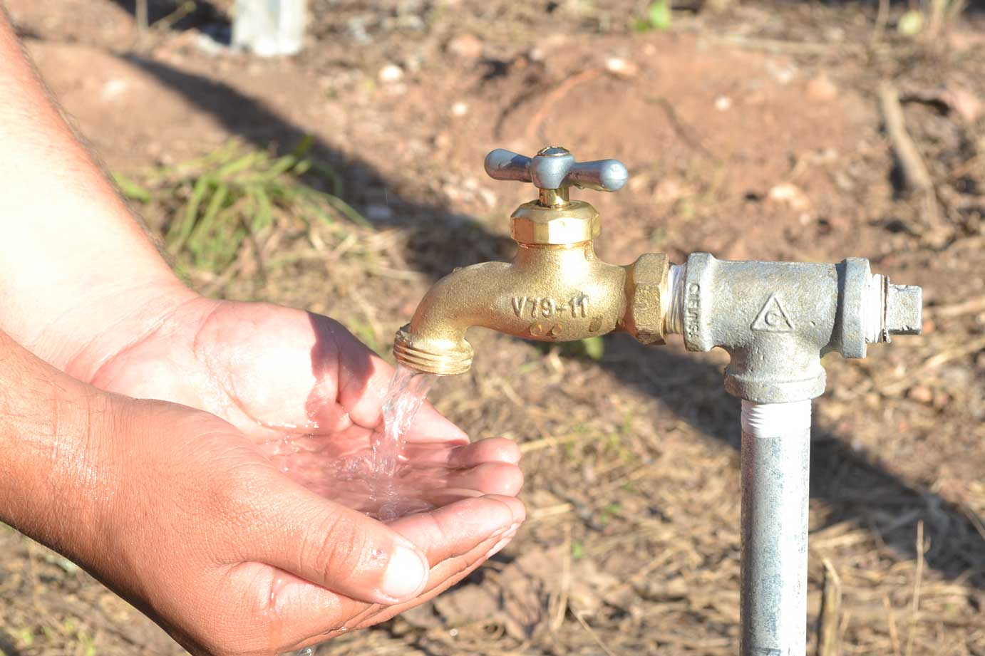 Water in communities thanks to a Solar Power Water System